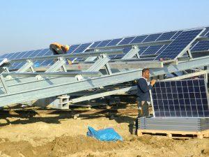 Bild Montage Photovoltaik Anlage Arslan Engineering